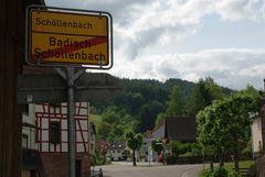 Mitten durch Schöllenbach