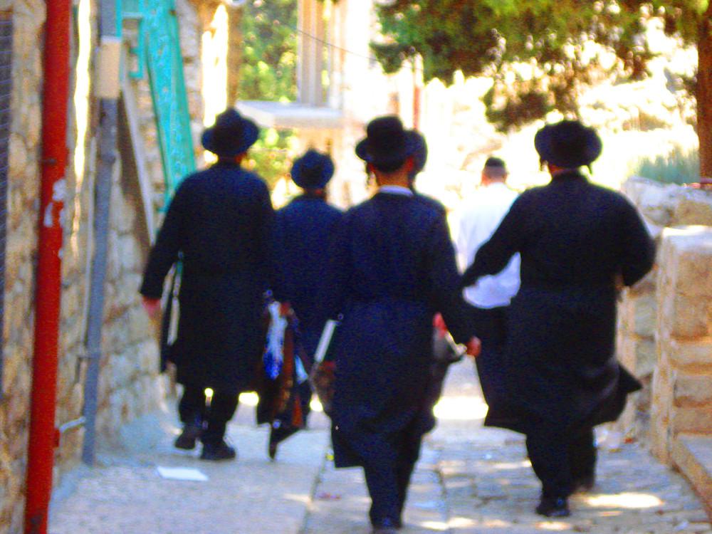 mitten in Jerusalem