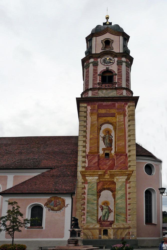 Mittenwald - kath. Pfarrkirche