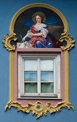 Mittenwalder Fenster-Detail