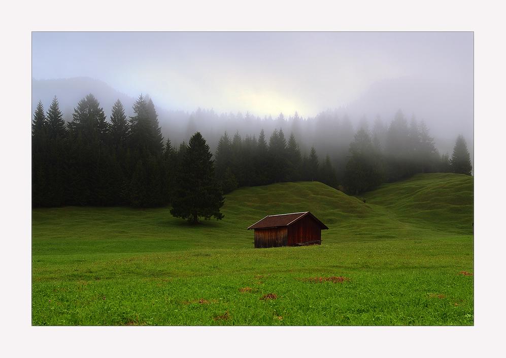 - mittenwalder morgen II -