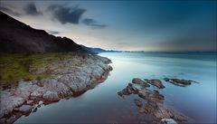Mitternacht am Vestfjord