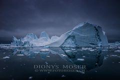 Mitternacht beim Eisberg