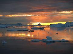 Mitternacht in Ilulissat