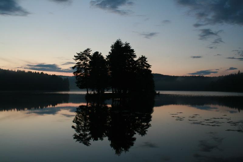 Mitternacht in Norwegen