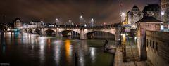 """""""Mittlere Brücke bei Nacht"""""""
