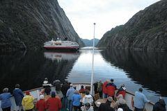 Mittsommernacht im Trollfjord