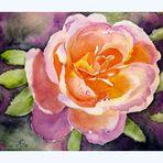 Mittwochsblümchen - gemalt