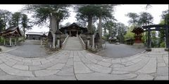 Mitumine Shrine (Panorama)