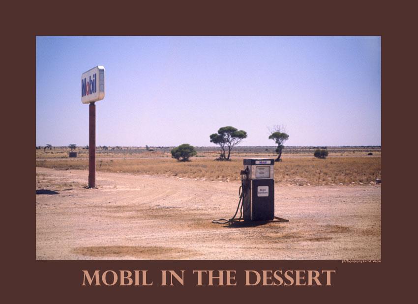 Mobil in der Wüste