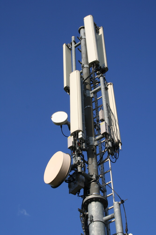 Mobilfunk Basisstation - Antennenmast