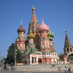 MOCKBA - The St. Basil Cathedral