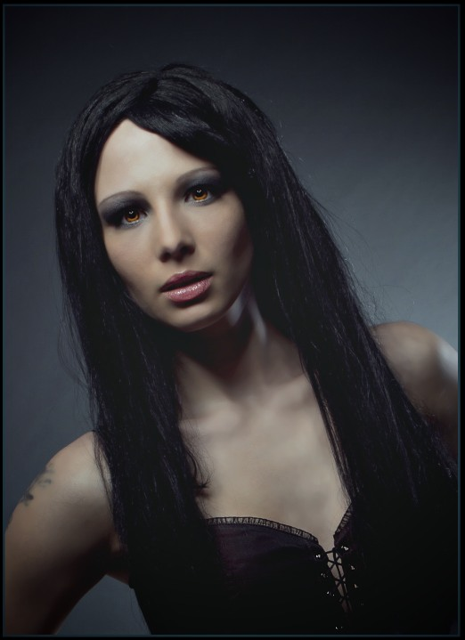 Model Daniela K. Bildbearbeitung