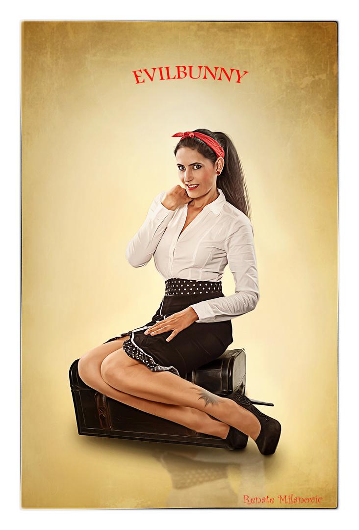 Model ich - Foto Renate Milanovic