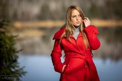 Model Jessica im Harz