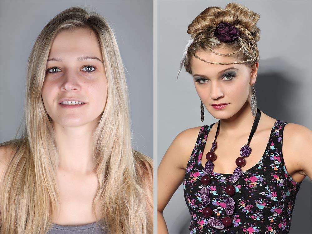 Model miranda vorher nachher foto bild fashion make up hairstyling frauen bilder auf - Mobel vorher nachher ...