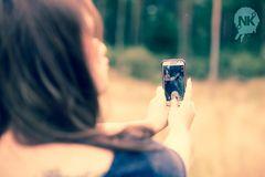 ... model & photographer ... (selfie) ...