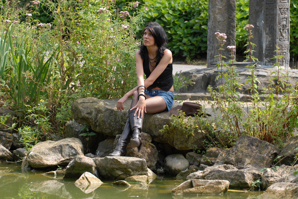 Model Sabrina ...die Verträumte.....