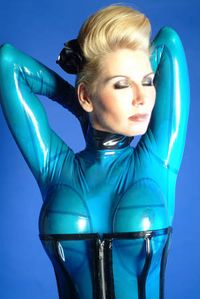 Model Sharon Moe
