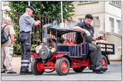 Modell Dampflastwagen