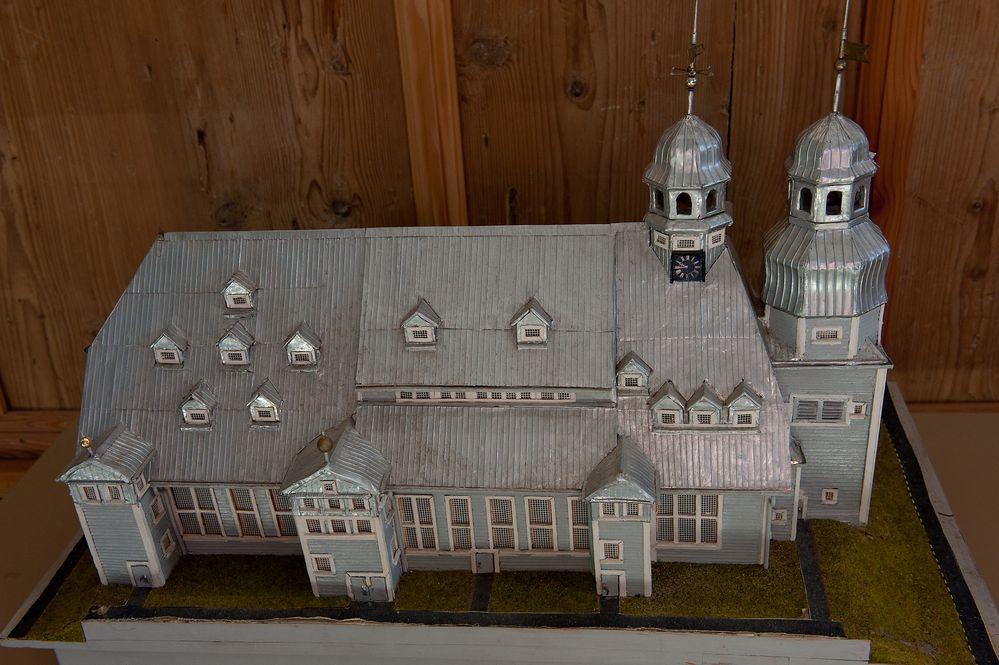 Modell der Clausthaler Marktkirche