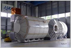 Modell der ISS