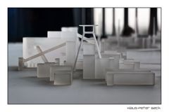 Modell der Zeche Zollverein