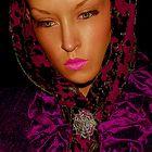 modella ritratto - tedesco stilista Torsten Amft / fashion model portrait - german designer