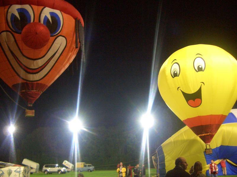 Modellballone in Sinsheim 2007