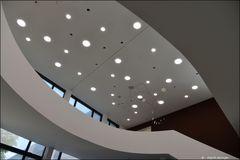 Moderne Architektur in einem anderen Licht