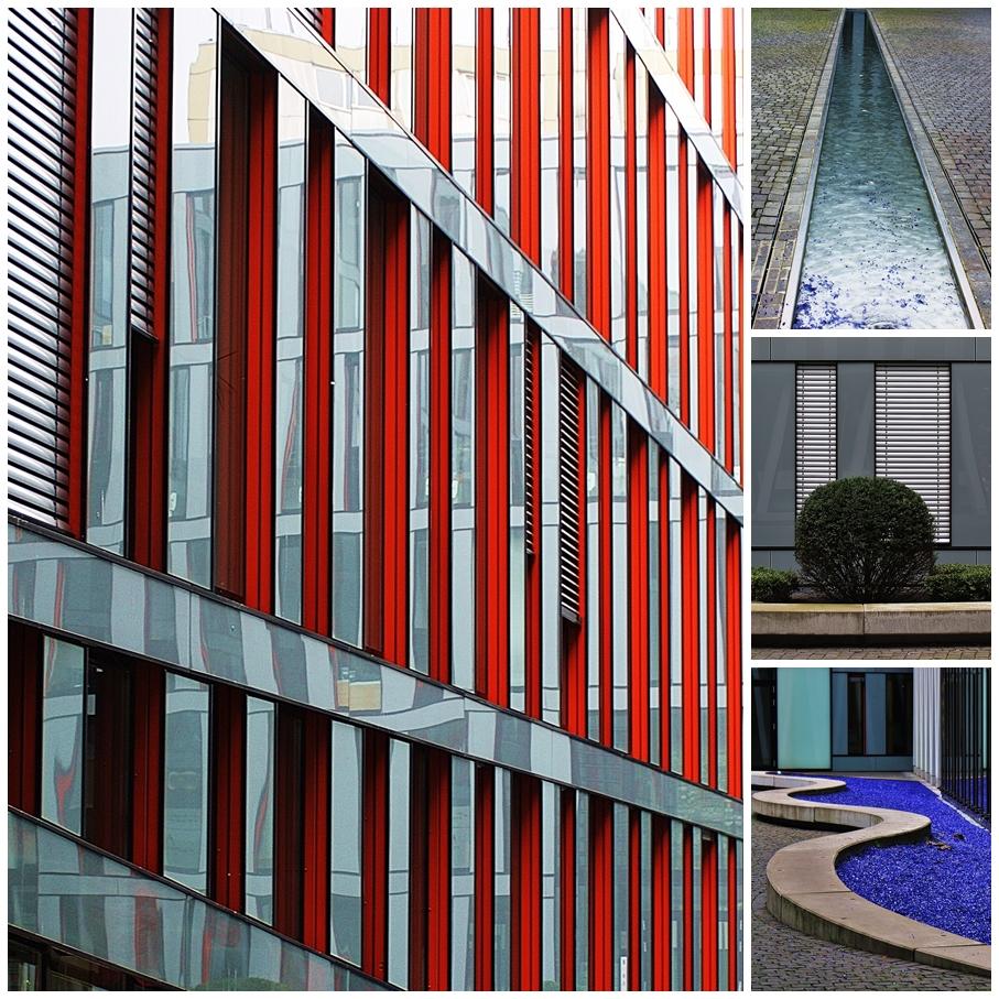 Moderne Architektur in Hamburg Winterhude