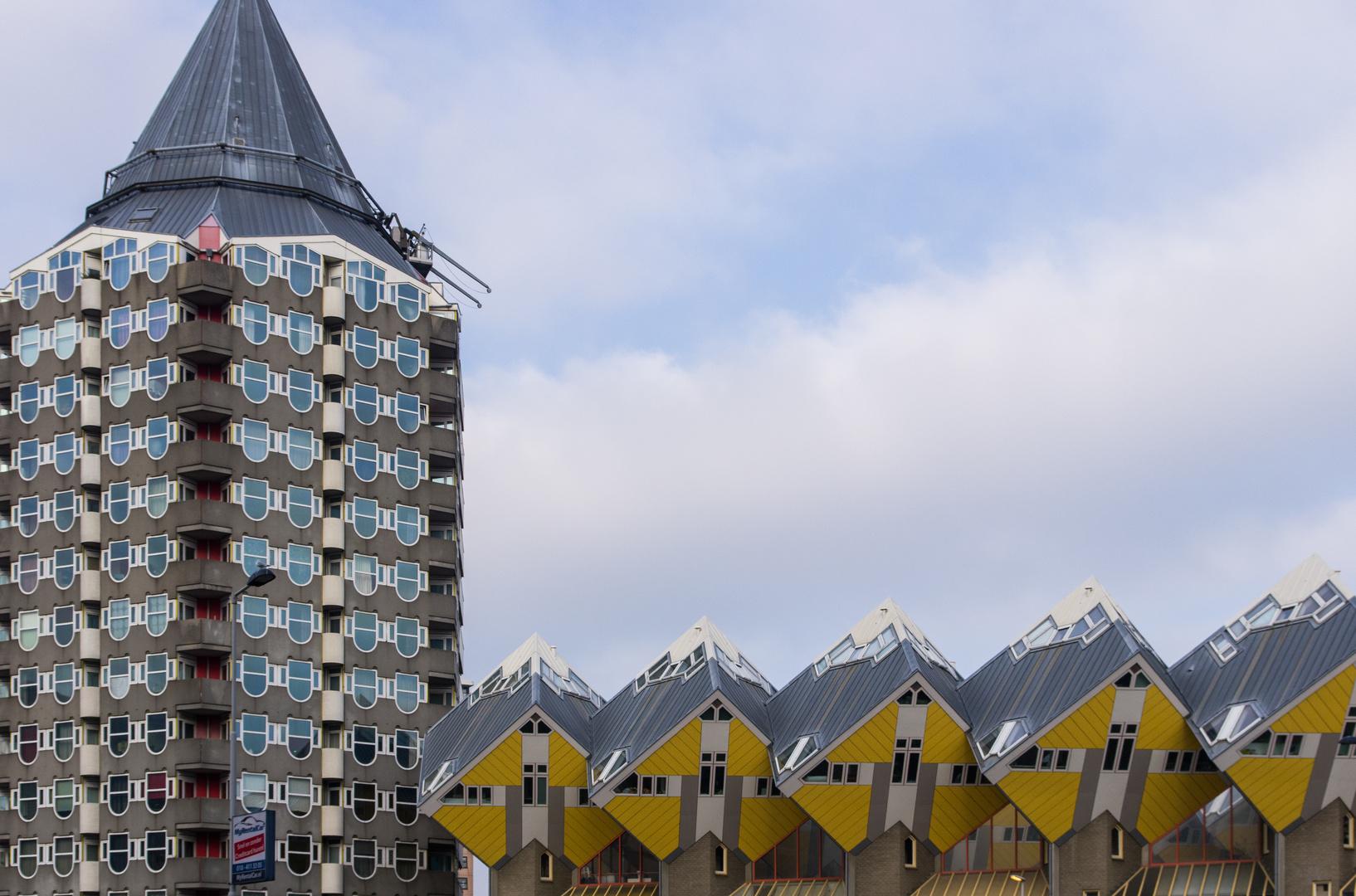 Moderne Architektur in Rotterdam Foto & Bild   world, europa ...