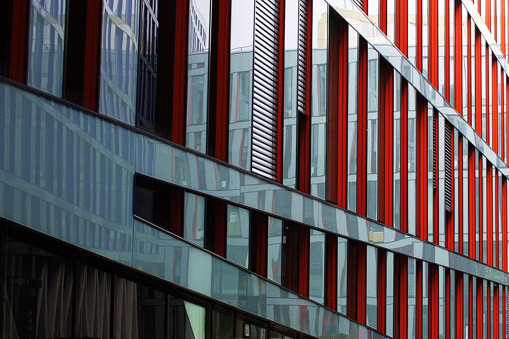 Moderne Architektur in Winterhude