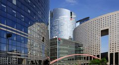 Moderne Architektur (La Défense, Paris)