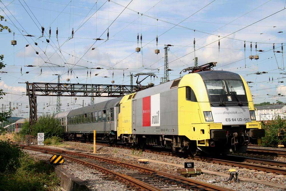 Moderne Bahn: Abellio
