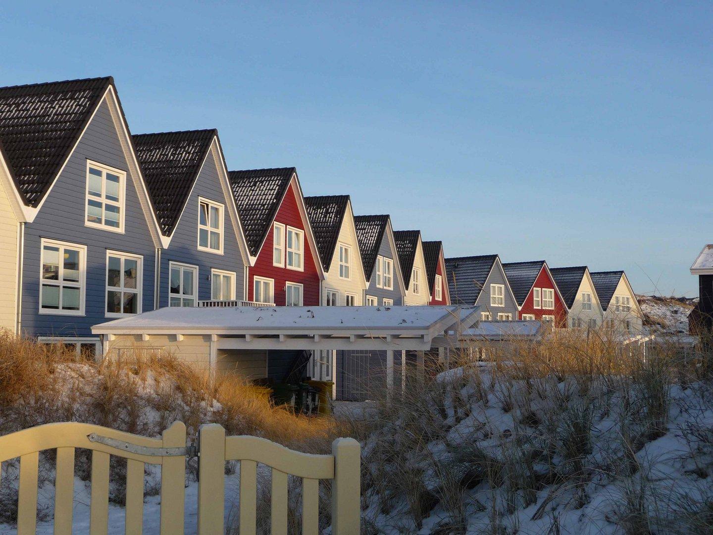 Moderne Häuser auf Mörsum/Sylt Foto & Bild | landschaft, natur ...