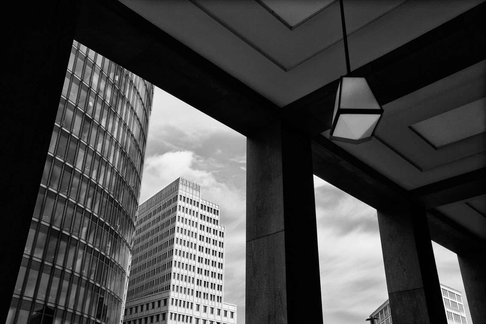 Moderne Laubengänge in Berlin