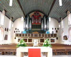 ... moderne Orgel