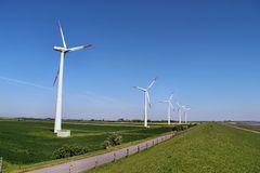 Moderne Windraeder