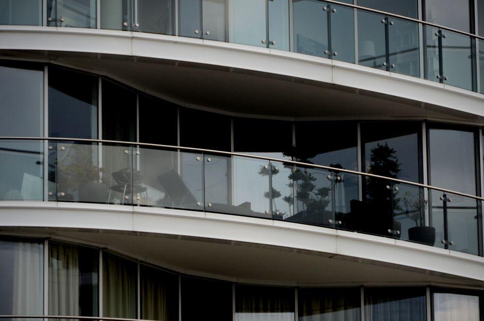 Moderner Balkon