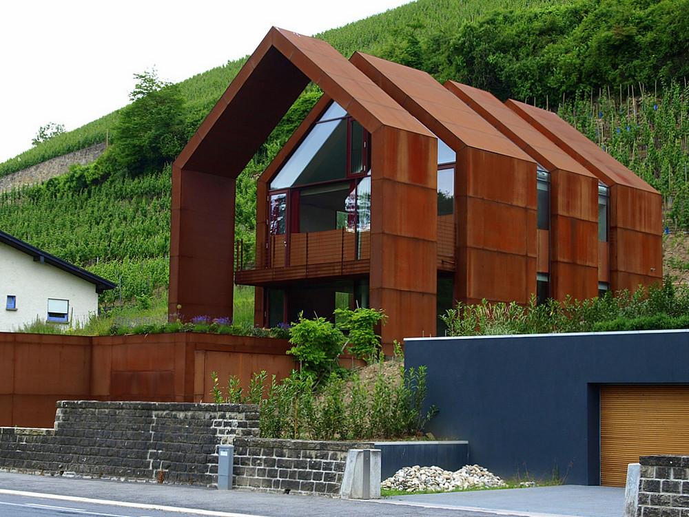 Moderner l ndlicher baustil 2 foto bild architektur for Moderner baustil einfamilienhaus