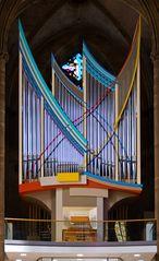 Moderner Orgelprospekt