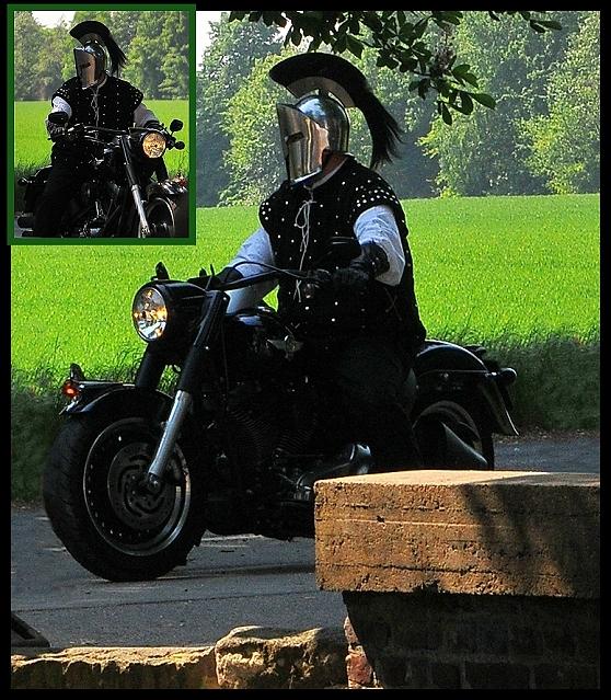 Moderner Ritter ...