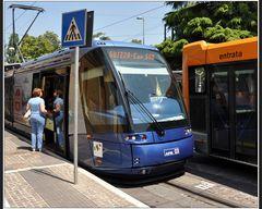 Modernes Padova: Bus oder Bahn??