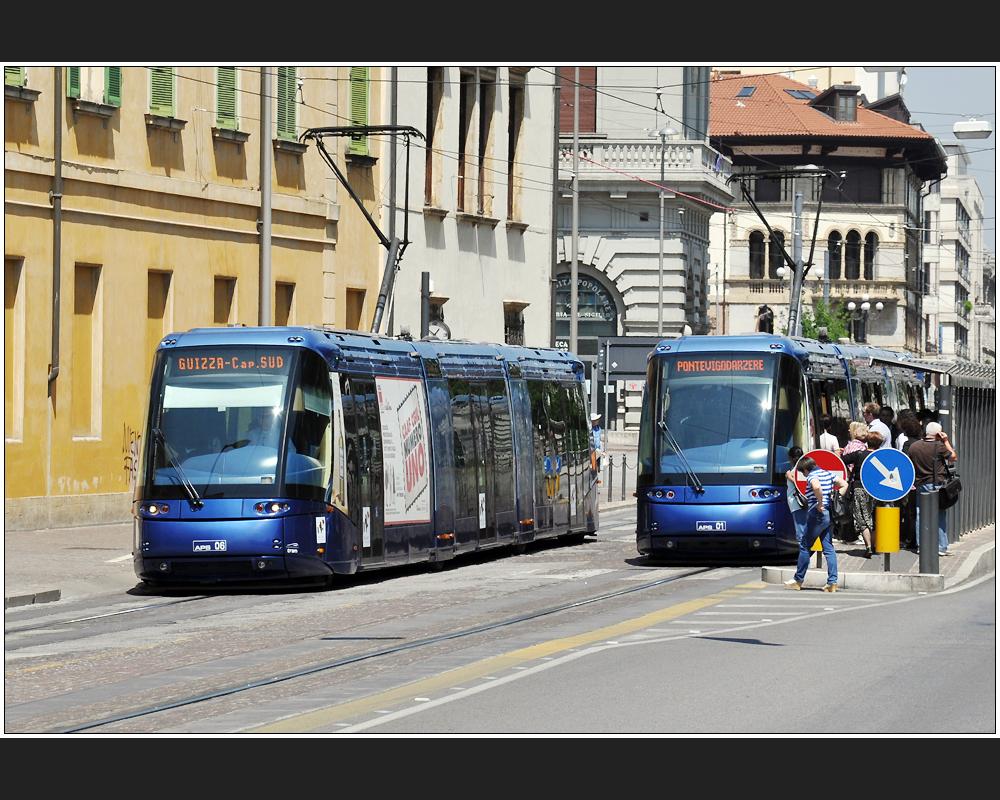 Modernes Padova: Bus oder Bahn?