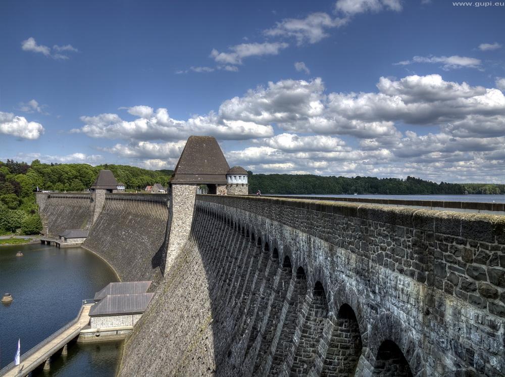 Möhnesee-Staumauer