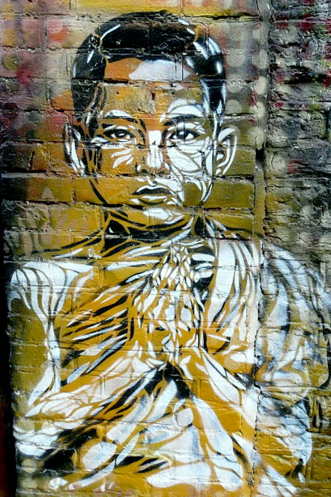 Mönch Graffiti, Amsterdam