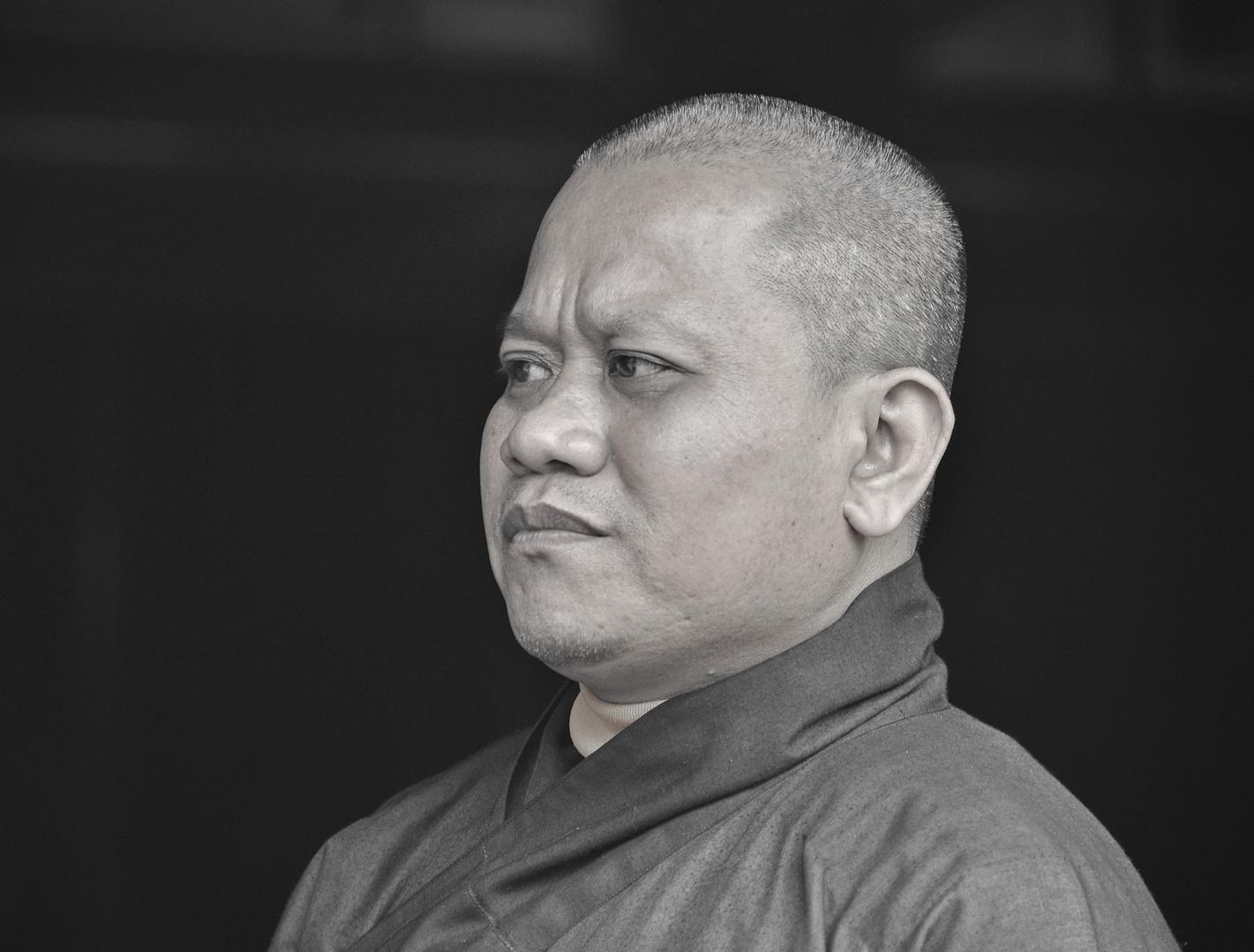 Mönch in Vietnam