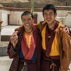 Mönche des Bön-Klosters Guru Gyjam, Tibet