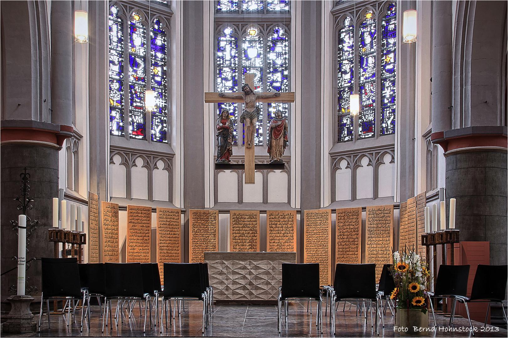 Mönchengladbach City Kirche ....